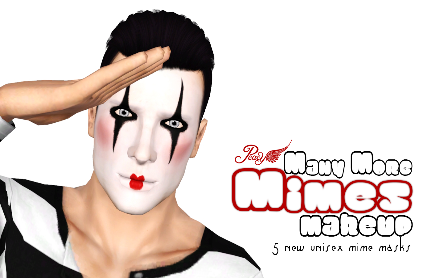 Mime Makeup Pictures Many More Mimes Makeup by