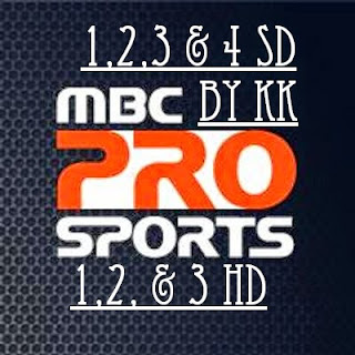 mbc pro sports frequency on eutelsat7a 2015