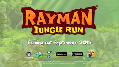 Rayman Jungle Run logo - We Know Gamers