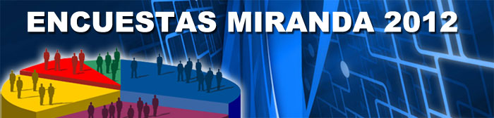 Encuestas Miranda 2012