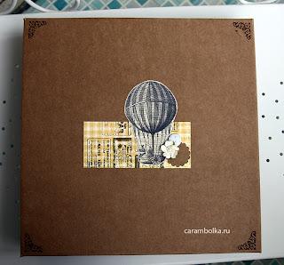 Скрап-альбом для свадебных пожеланий. Набор с рассадочными карточками. Материалы: магазин Скрапбукшоп. Коробка для скрап-альбома.