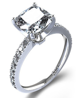 If Your lady Prefer Vintage Style Rings then Go For Cushion Cut Engagement Rings