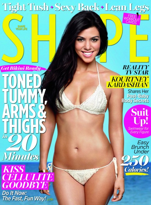 Kourtney Kardashian For SHAPE Magazine!