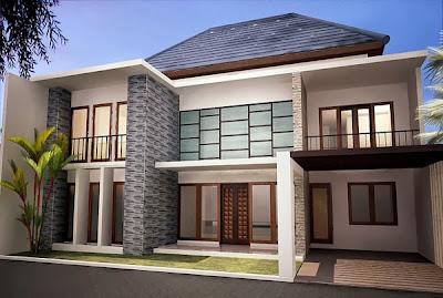 Desain Rumah Mewah Terbaru 2014