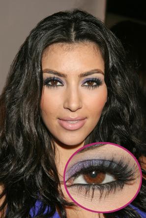 Lainey Style: Get the Look: Kim Kardashian Purple Smokey Eye