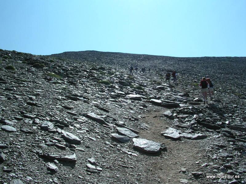 SIERRA NEVADA: Mulhacén 3482 m