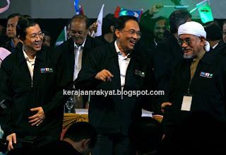 Lim Guan Eng, Anwar Ibrahim, Haji Hadi