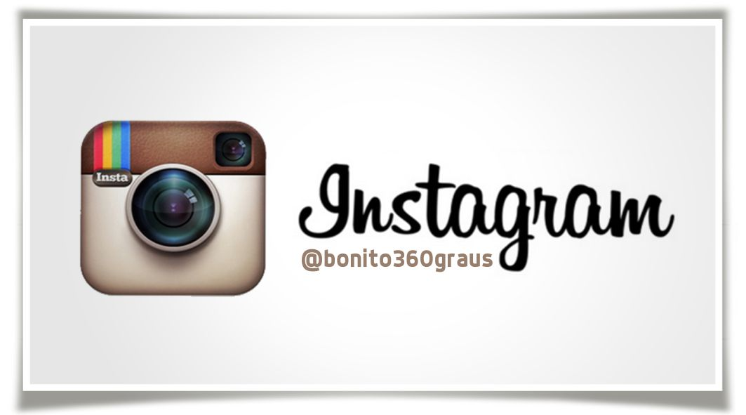 Estamos no Instagram