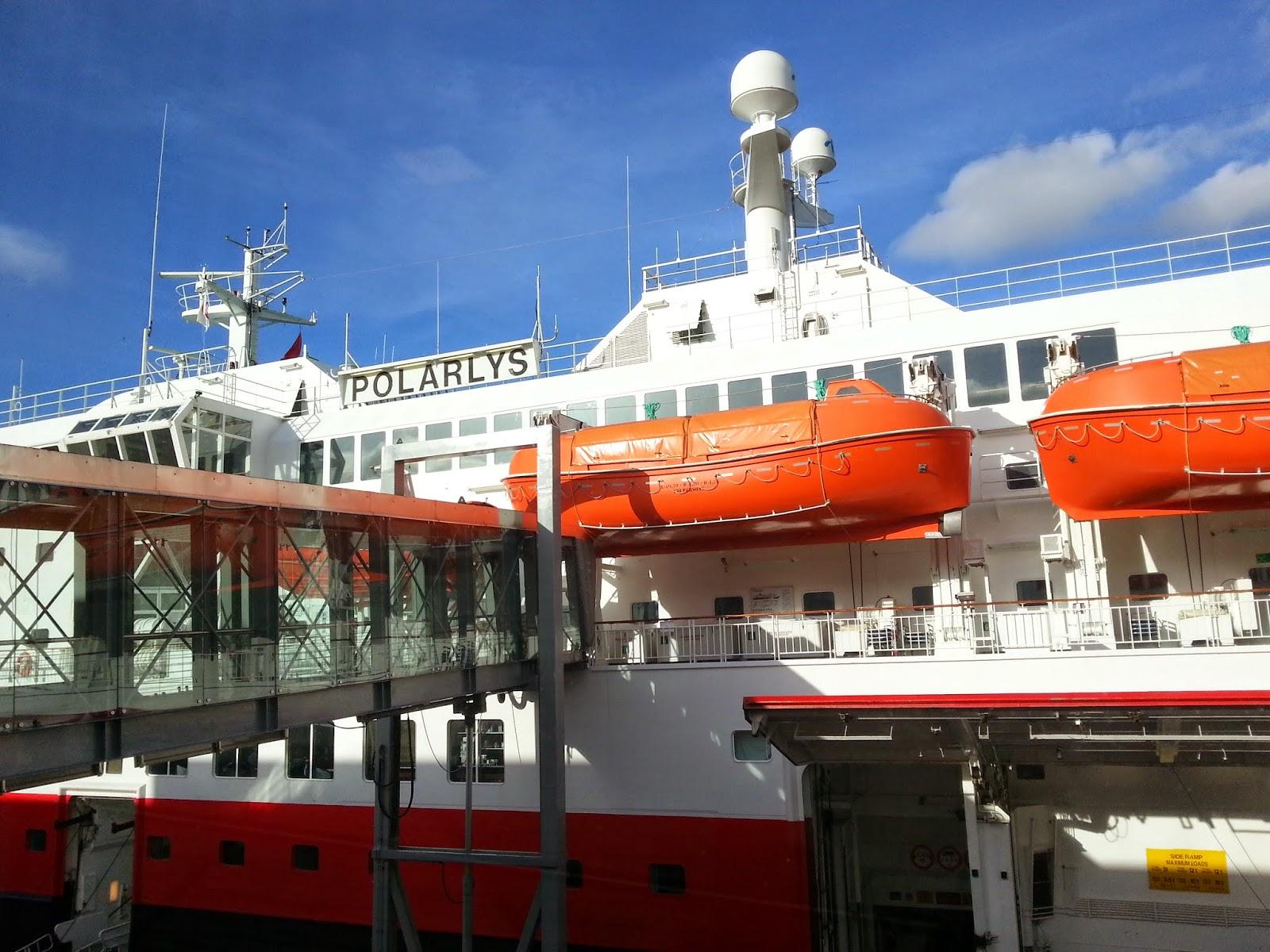 Hurtigruten MS Polarlys in Bergen, Norway