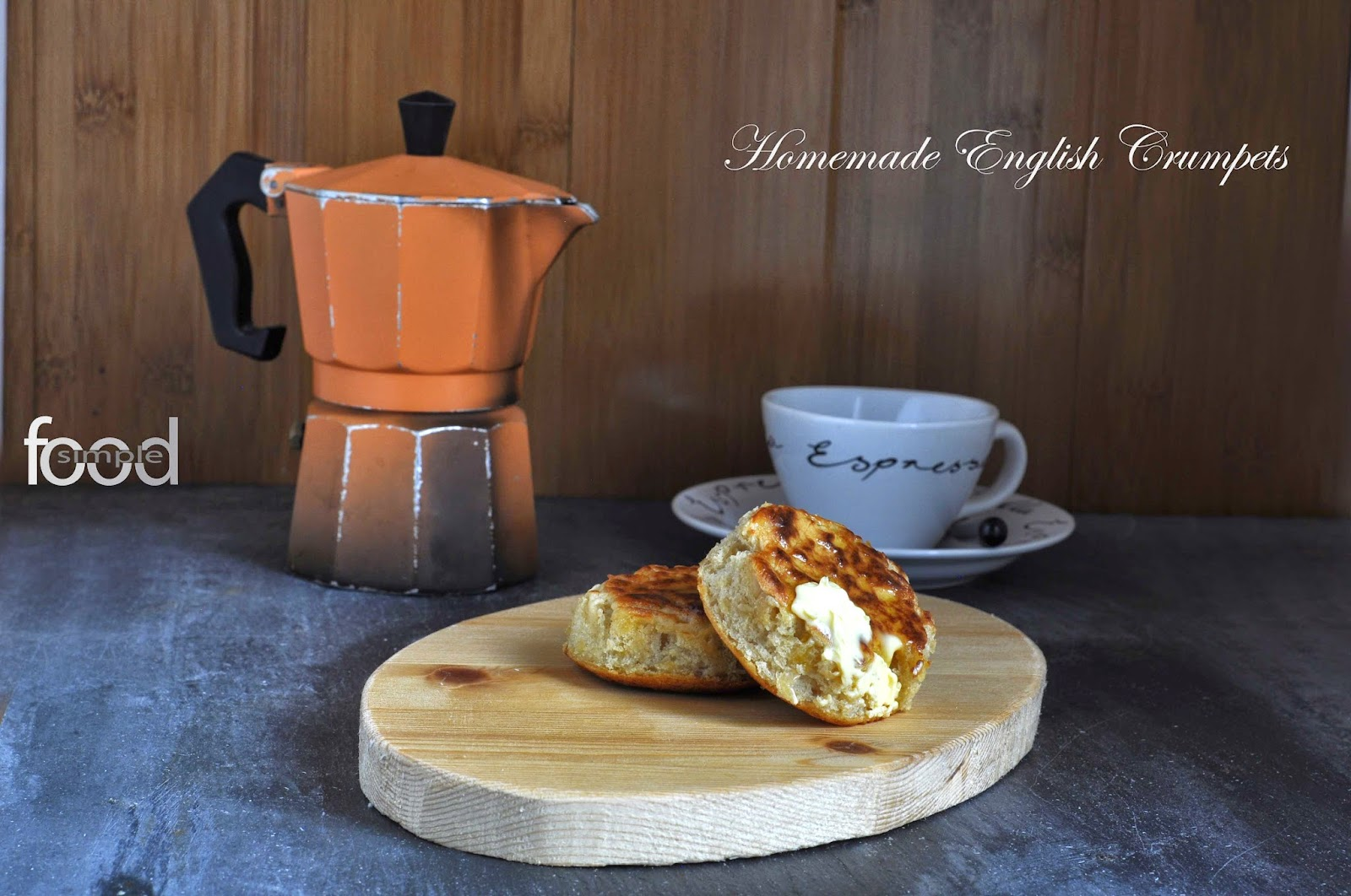 Homemade English Crumpets ~ Simple Food