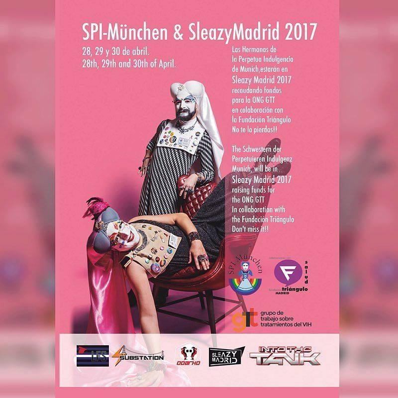 Las hermanas de La Perpetua Indulgencia en Madrid