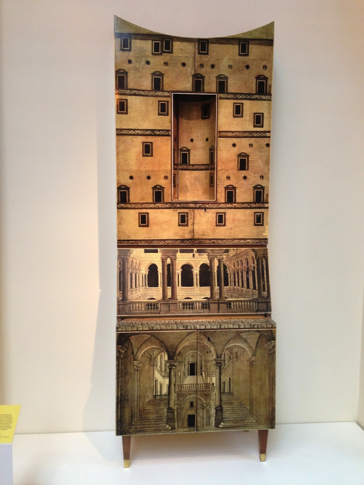 Ponti fornasetti secr taire modern furniture and design - Secretaire moderne ...