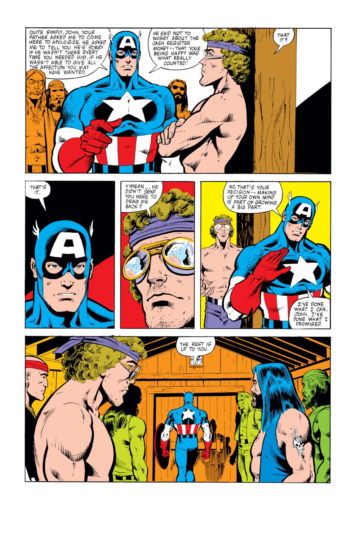 Captain America (1968) Issue #259 #174 - English 19