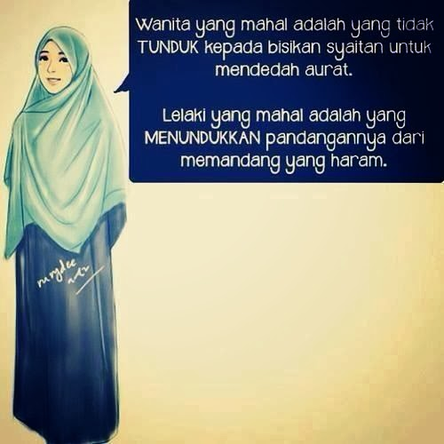 aurat, muslimah, sayang suami, sayang bapa