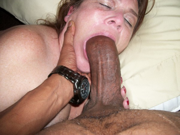 Black cock only slut
