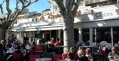 Le Grand Café, Cannes. Always in the sunshine!