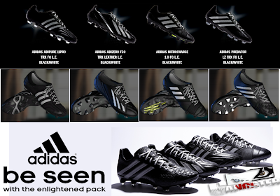 PES 2013 Adidas Boots Pack by SGangster