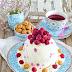 Himbeer Eistorte mit Amarettini und neues Lieblings Geschirr