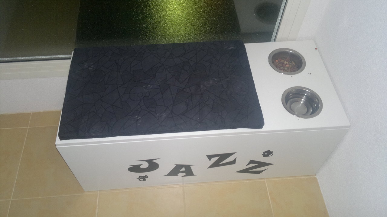 My cat 39 s litter box get home decorating for Ikea litter box