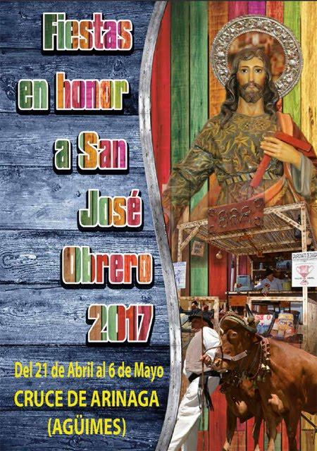 Fiestas en honor a San José Obrero en el Cruce de Arinaga