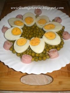Test: Deski Neoflam, Jajka z groszkiem w galarecie