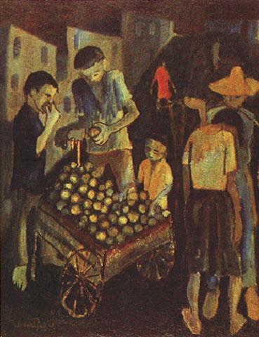 Instituto internacional de arte naif iian descartes - Carro de frutas ...