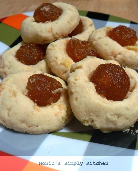 cookies thumbprint sagu keju