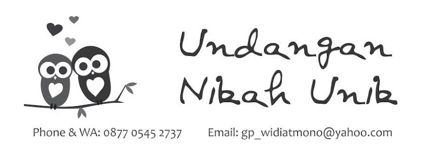 undangan nikah unik lucu jogja murah hardcover softcover simpel elegan fullcolour hitam putih