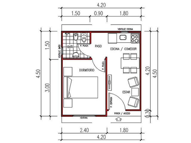 Viviendas anah casas prefabricadas - Planos casas modulares ...
