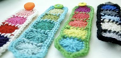 free granny square bracelet pattern