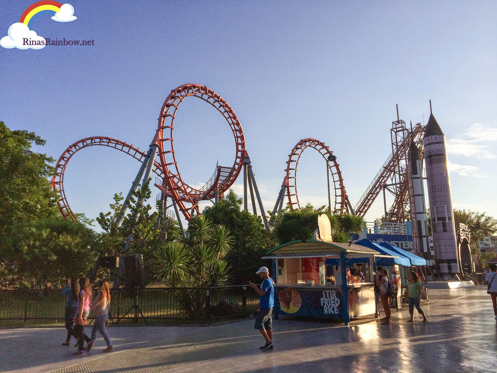 enchanted kingdom space shuttle
