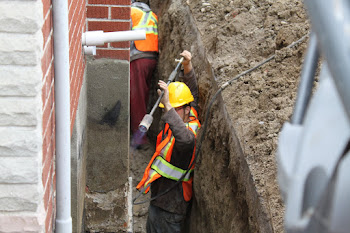 Aquaseal Toronto How To Exterior Basement Foundation Waterproofing Toronto in Toronto in Toronto
