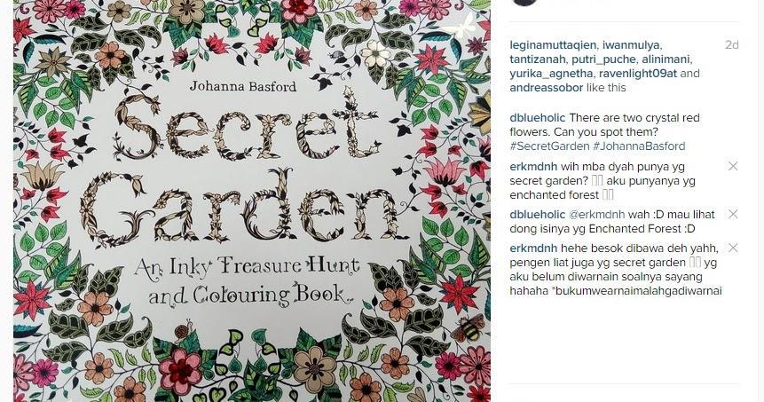 Serpihan Es Di Samudra Mewarnai Secret Garden