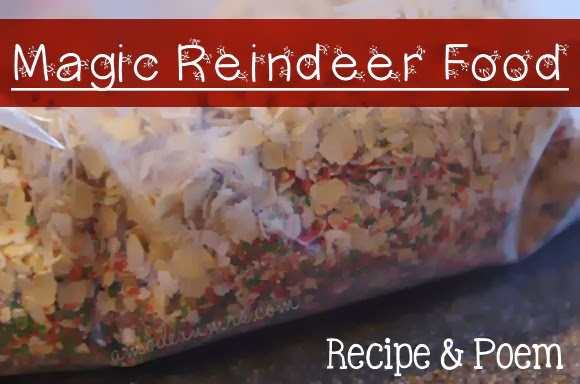Magic Reindeer Food Recipe & Poem — A Modern Mrs.
