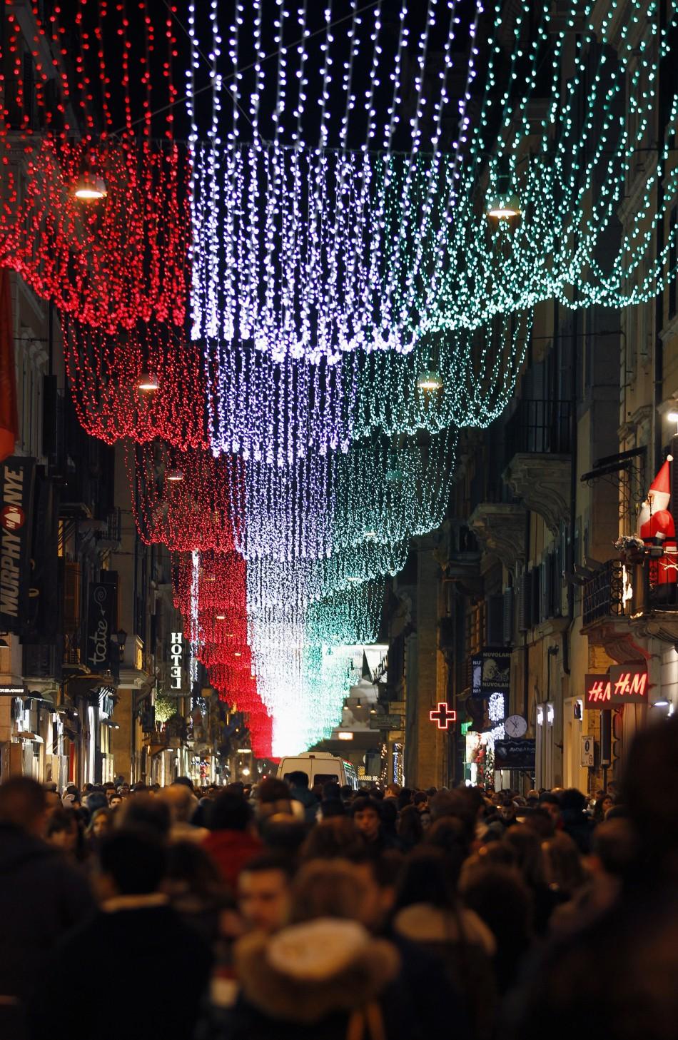 christmas lights in rome georgia