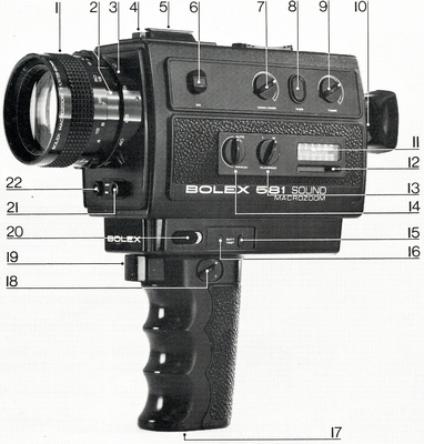 Bolex 581 Sound Macrozoom