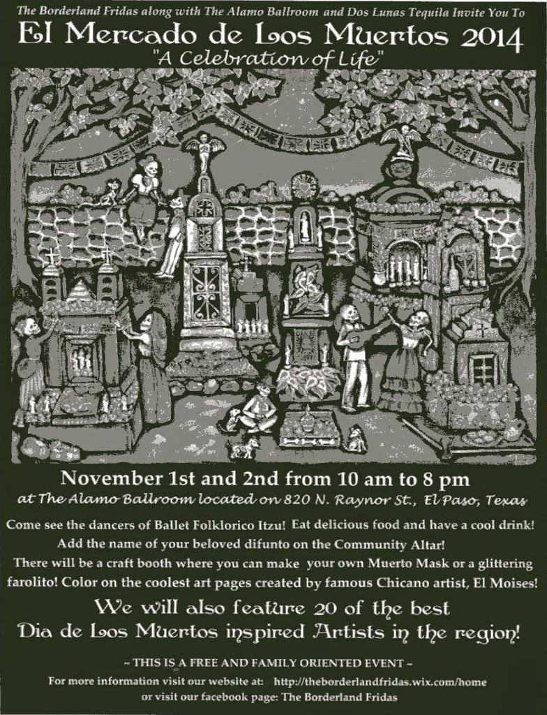 dia de los muertos u2022 el paso october 2014