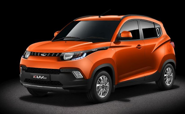 Mahindra Reveals KUV100 in India