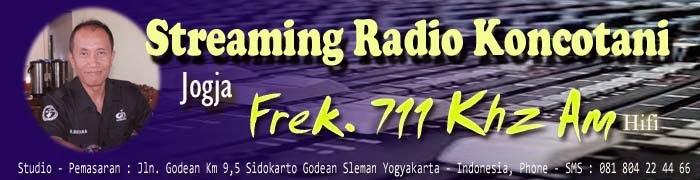 STREAMING RADIO KONCOTANI