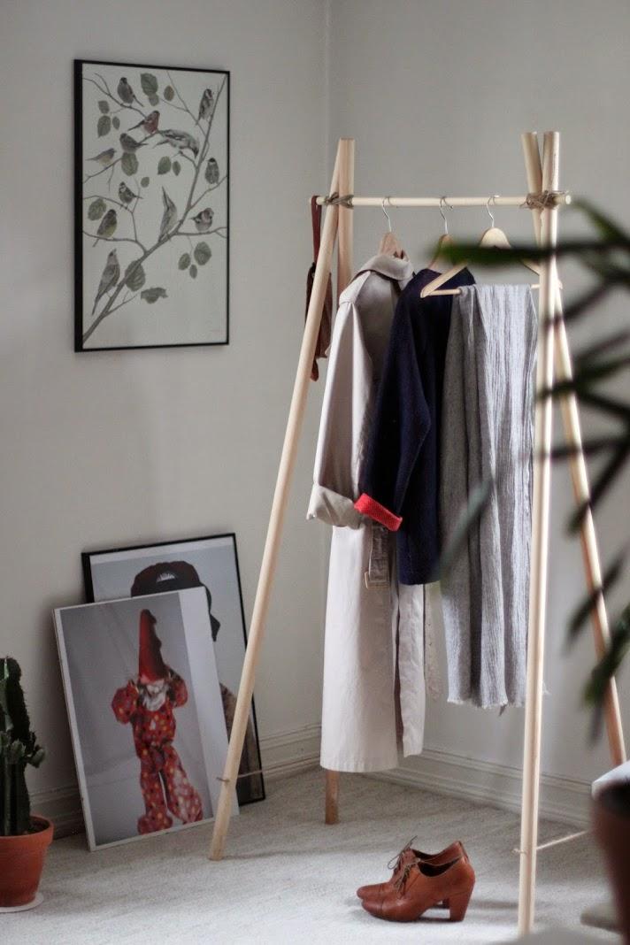 5 projekt w diy na weekend drewno Home ubrania