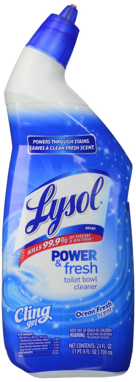 Lysol Cling Gel Toilet Bowl Cleaner