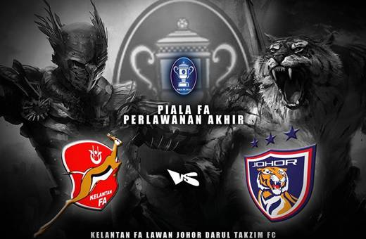 Perlawanan Akhir Piala FA 2013, keputusan terkini Perlawanan Akhir Piala FA 2013, Johor Tumbang, Pablo Aimar