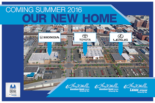 Larry H. Miller Has Completed The First Step With New Showroom / Offices  For Their Lexus Dealership . The New Showroom Is Located At 1030 W. ...