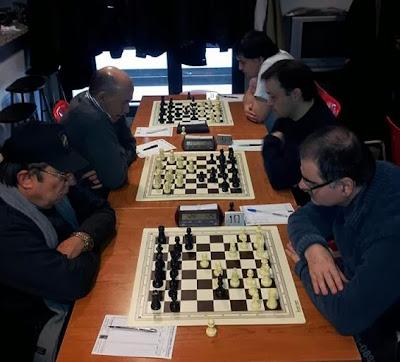 Encuentro de ajedrez l'Espiga de les Corts - Foment Martinenc (1)