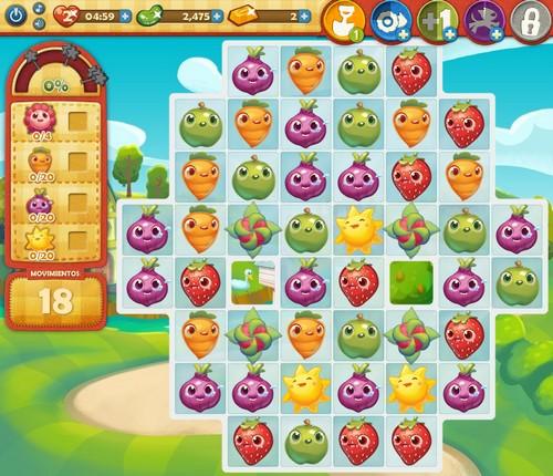 Nivel 20 Farm Heroes Saga