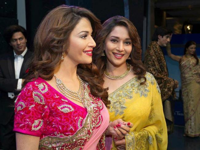 Madhuri Dixit Wax Statue At Madame Tussauds
