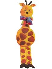 Molde girafa de feltro