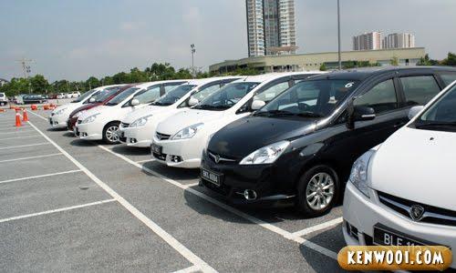 proton exora cars