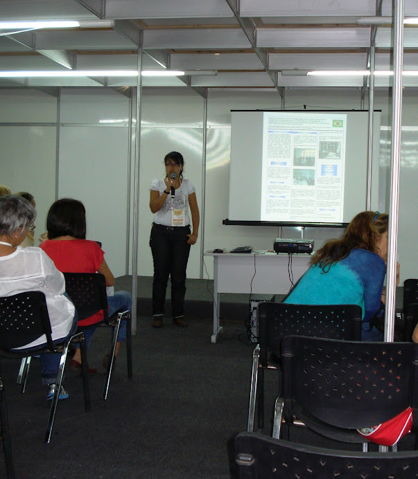 Profa Wanessa do Carmo: experiência do GESAN-MG - Congr. Bras. Saúde Colet, Porto Alegre, nov 2012