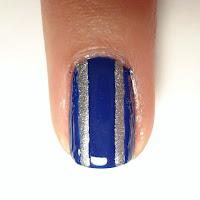 Mickey Stripe Nail